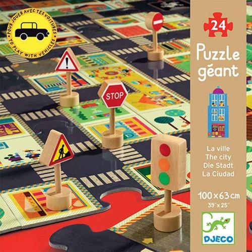 DJECO DJ07161 - Puzzle strade - La Cittè