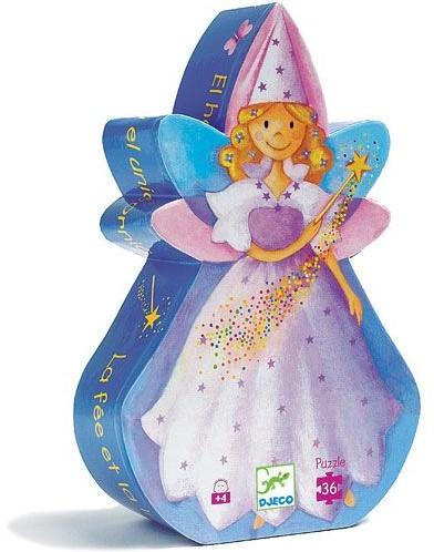 DJECO The fairy and the unicorn - 18,5 x 30 x 6 cm