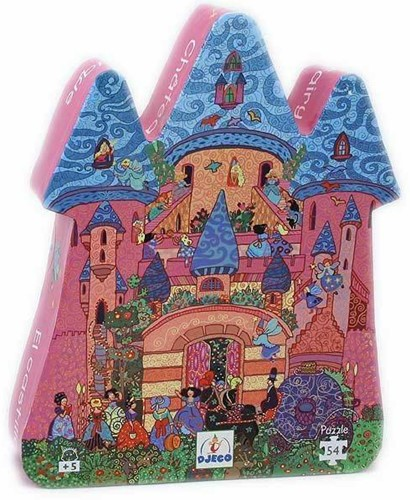 DJECO The fairy castle 54 pcs - 22,5 x 27,5 x 6 cm
