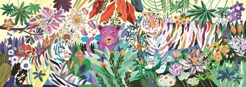 Djeco Rainbow tigers - 1000 pcs - FSC MIX