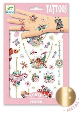 Djeco Tatouages Les bijoux de Fiona