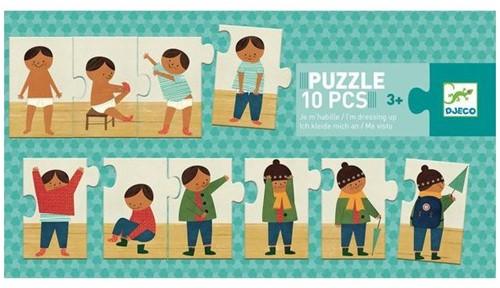 Djeco Puzzle Je m'habille