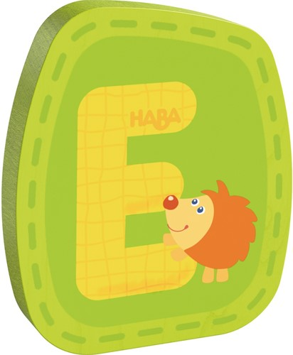HABA Wooden letter E