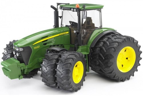 BRUDER John Deere 7930 with twin tyres toy vehicle
