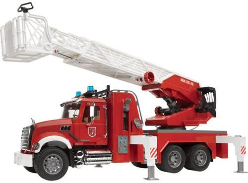 BRUDER MACK Granite fire engine with water pump toy vehicle