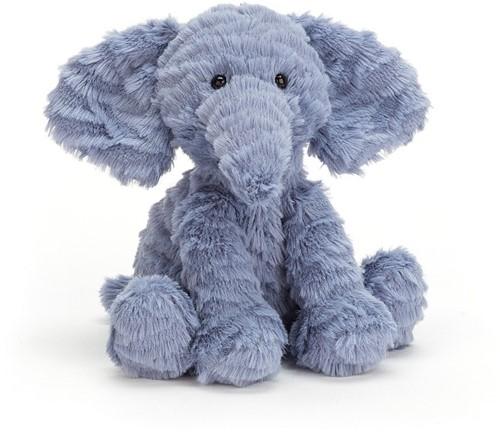 Jellycat knuffel Fuddlewuddle Elephant Baby 12cm