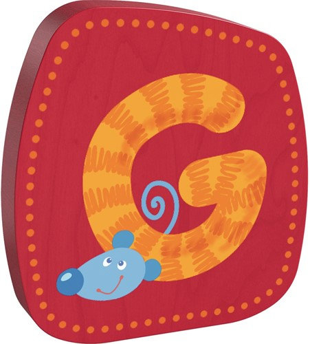 HABA Wooden letter G