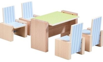 HABA Little Friends - Dollhouse Furniture Dining Room