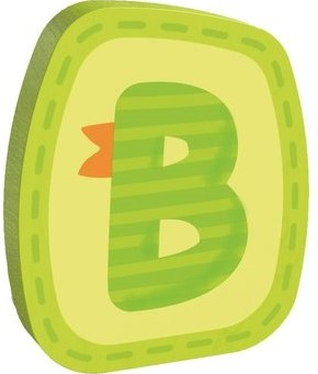 HABA Wooden letter B