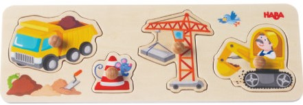 HABA Clutching Puzzle World of Construction