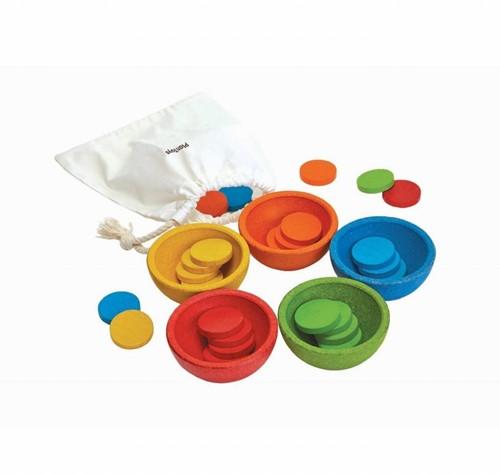 Plan Toys Sorteer en tel - cups