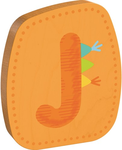 HABA Wooden letter J