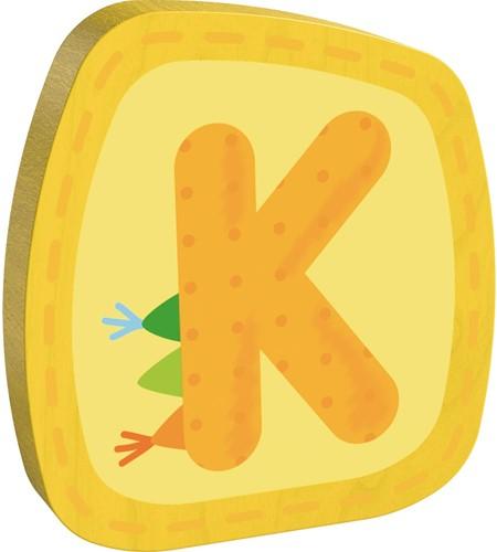 Houten letter K
