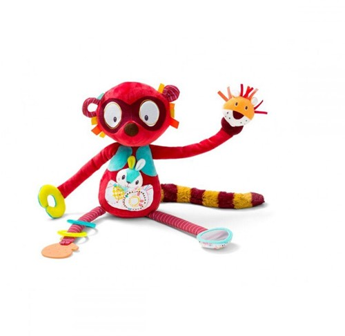Lilliputiens Georges Cuddly Activity Lemur