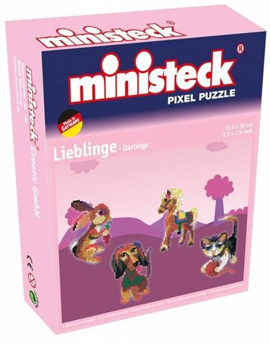 Ministeck Lievelingen 4-in-1 - 500 stukjes