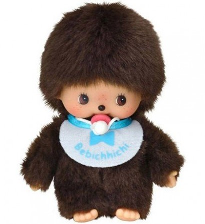 Monchhichi knuffelpop Jongen Basic - 15 cm