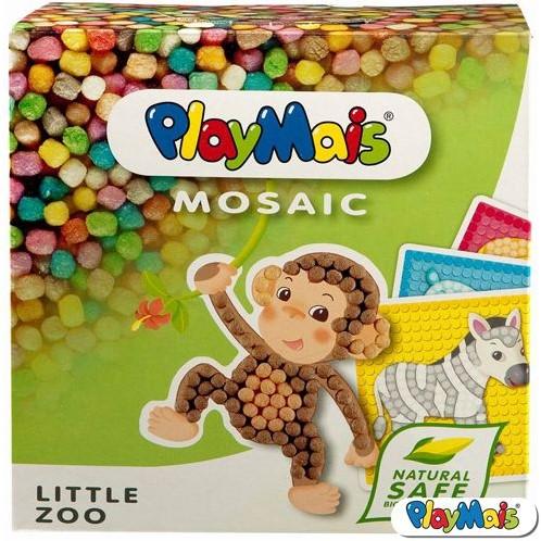 PlayMais  knutselspullen Mosaic Little Zoo