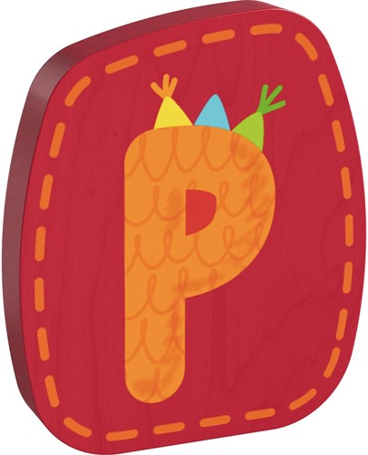 HABA Wooden letter P