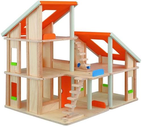 Plan Toys  houten poppenhuis Chalet dollhouse