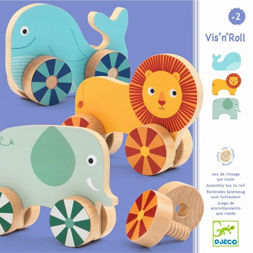 DJECO Vis'n'Roll toy vehicle