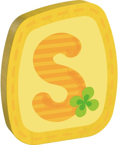 HABA Wooden letter S