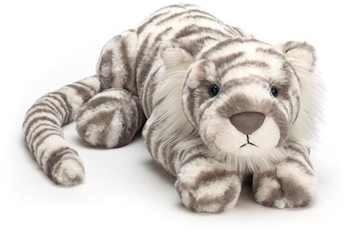 Jellycat knuffel Sacha Snow Tiger Really Big 74cm