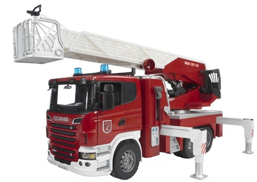 BRUDER Scania R-series Fire engine with water pump toy vehicle