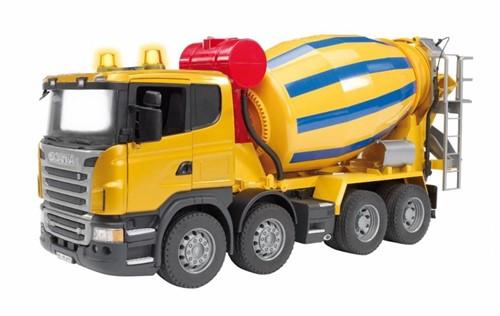 Bruder Scania R-series cement mixer (03554)