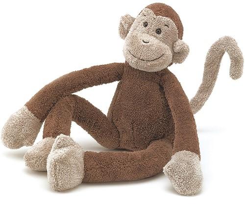 Jellycat knuffel Slackajack Monkey Small 33cm