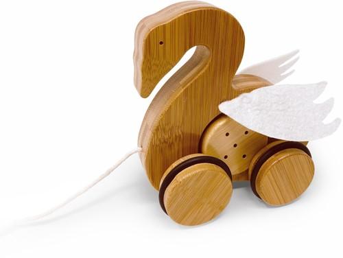 Kinderfeets Bamboo Pull-along Swan