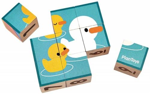 Plan Toys Puzzle Cubes