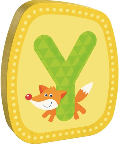 HABA Wooden letter Y